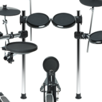 ALESIS FORGE KIT 8PC ELECTRONIC DRUM KIT WITH FORGE DRUM MODULE