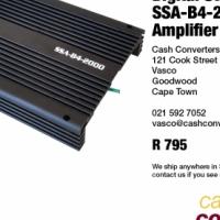 Digital Star Sound SSA-B4-2000 Car Amplifier