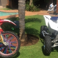 Crf 450r and ltz400