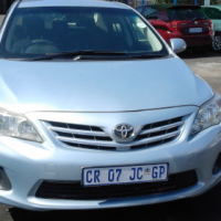 Toyota Corolla Professional 1.3 Model 2013 5 Doors Colour Skyblue Factory A/C & CD Player