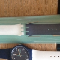 Swatch warch and strap