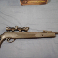 .22 Pellet Rifle with scope, carry bag and Gammo pellets