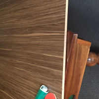 Solid Imbuia Wood Pool Table For sale