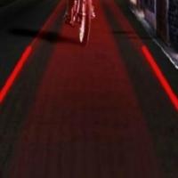 Bicycle Laser Warning Light