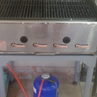 Stainless 4 Burner Gas Grill