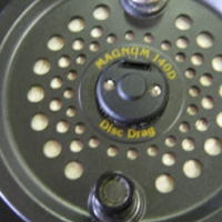 """Magnum 140D fly fishing reel 4"""" size"""