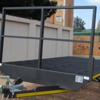 A.PT.  NEW FLAT DECK TRAILERS - 1600kg.