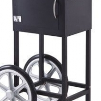 Popcorn cart and stand
