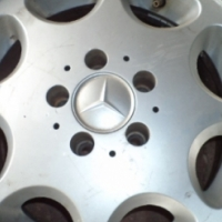 Mercedes c class 15 inch mag wheels