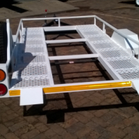 Multipurpose Golf Cart and Quad Bike Trailer