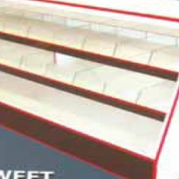 Sweet display unit