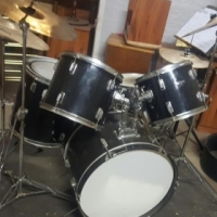 WJM drum kit with loads of extras.