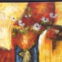 painting - daisy