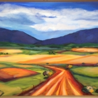 painting country side