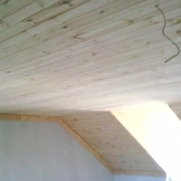 KNOTTY PINE CEILINGS