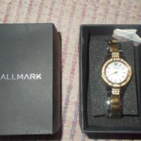 Stunning, brand NEW Silver & Gold HALLMARK Female Watch