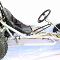 200cc Go Kart- wet clutch & side impact bars
