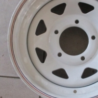Mag White 16'' 5 Hole 4x4 for sale