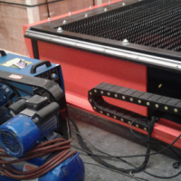 ps 1.5mx3mx100amp metal plasma cutters /piers easily on 15mm thickness
