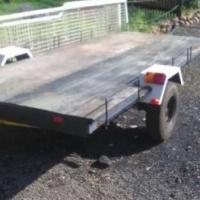 golf cart / bike trailer