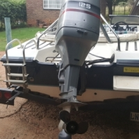 Carrera 2 with 125 Hp Mariner outboard to swop for small car preferably a diesel