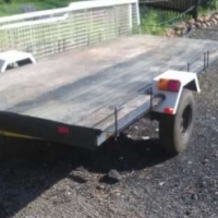golf cart/ bike trailer