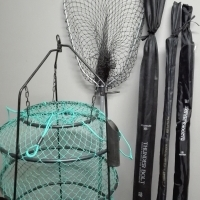 Fishing Rods & Nets - Graphite R2500 Lot