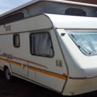 1996 sprite ci caravan in immaculate condition
