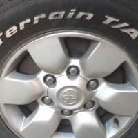 TOYOTA HILUX/ FORTUNER MAGS AND TYRES!!!