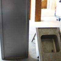 Stainless steel kitchen sink R900