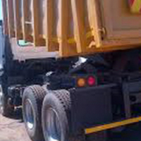FAW 26/240, 2008, 10 meter tipper truck for sale with current work