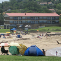 January February 1 bedroom spacious - 4 sleeper holiday flats St Michaels-on-Sea UVONGO SHELLY BEACH