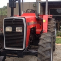 S2131 Red Massey Ferguson (MF) 699 4x4 Pre-Owned Tractor