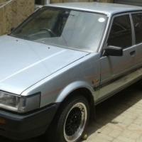 1986 toyota conquest 1300 hatchback