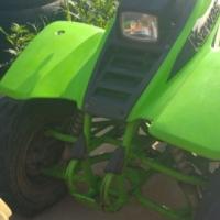 Quad bike kawasaki 250 cc 4 stroke