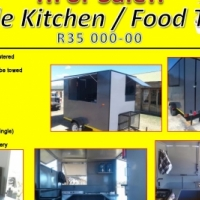 Mobile Kitchen for Sale - Brand New