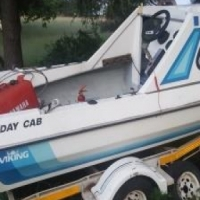 Viking Holiday Cab with a 40 Yamaha engin, used for sale  South Africa