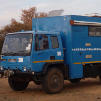 Overland Camper Motorhome - ideal for an African adventure