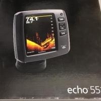 Garmin Echo 551 DV Fish Finder - BRAND NEW with Transducer