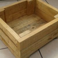 WOOD PLANT BOX