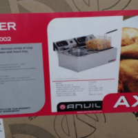 ANVIL DOUBLE ELECTRIC FRYER - NEW - 2 X 5L - IN BOX - ONLY ONE AVAILABLE AT THIS PRICE for sale  South Africa
