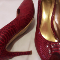 Ladies red patent black leather High heel shoes for sale – S11 for sale  Pretoria East