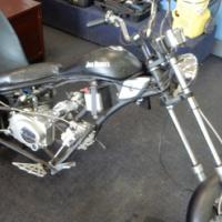 Jack Daniels Motorbike