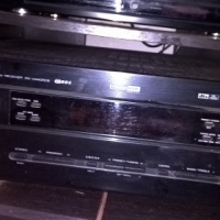 YAMAHA RX V440 RECEIVER/AMP & 200W RMS SANSUI TALLBOY SPEAKERS