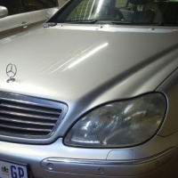 Mercedes S320 with Sunroof and towbar