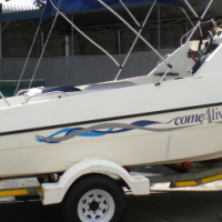 Kosi Cat 16 F/Con with 2 x Yamaha 40HP Motors for sale  Pinetown