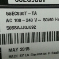 Curve TV LG55EC930T for sale