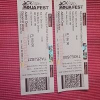 Aquafest tickets