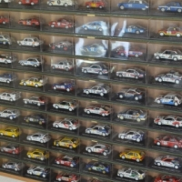 Complete De Agostini Rally Car Collection of 70 cars