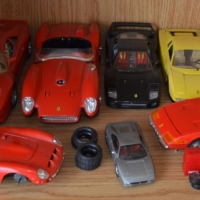 Ferrari car collection